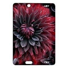Flower Fractals Pattern Design Creative Amazon Kindle Fire Hd (2013) Hardshell Case