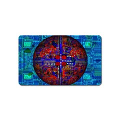 Board Interfaces Digital Global Magnet (name Card)