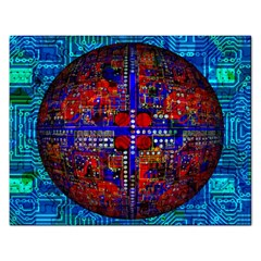 Board Interfaces Digital Global Rectangular Jigsaw Puzzl