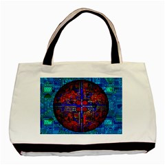 Board Interfaces Digital Global Basic Tote Bag (two Sides)