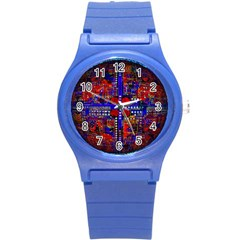 Board Interfaces Digital Global Round Plastic Sport Watch (s)