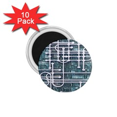 Board Circuit Control Center 1 75  Magnets (10 Pack)