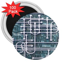 Board Circuit Control Center 3  Magnets (100 Pack)