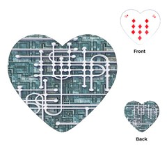 Board Circuit Control Center Playing Cards (heart)