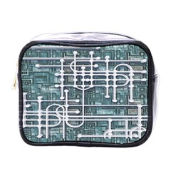 Board Circuit Control Center Mini Toiletries Bags