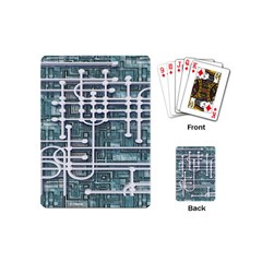 Board Circuit Control Center Playing Cards (mini)