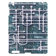 Board Circuit Control Center Apple Ipad 3/4 Hardshell Case