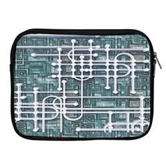 Board Circuit Control Center Apple Ipad 2/3/4 Zipper Cases