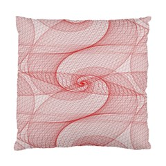 Red Pattern Abstract Background Standard Cushion Case (two Sides)