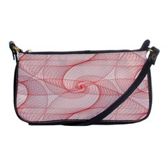 Red Pattern Abstract Background Shoulder Clutch Bags