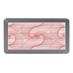 Red Pattern Abstract Background Memory Card Reader (mini)