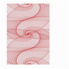 Red Pattern Abstract Background Large Garden Flag (two Sides)