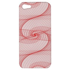 Red Pattern Abstract Background Apple Iphone 5 Hardshell Case