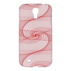 Red Pattern Abstract Background Samsung Galaxy S4 I9500/i9505 Hardshell Case