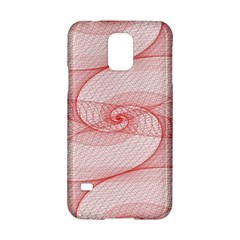 Red Pattern Abstract Background Samsung Galaxy S5 Hardshell Case