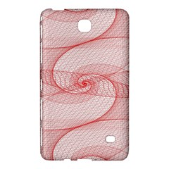 Red Pattern Abstract Background Samsung Galaxy Tab 4 (7 ) Hardshell Case