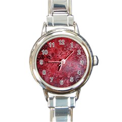 Background Texture Structure Round Italian Charm Watch