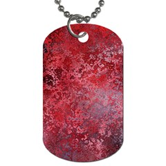 Background Texture Structure Dog Tag (two Sides)
