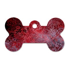Background Texture Structure Dog Tag Bone (one Side)