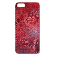 Background Texture Structure Apple Seamless Iphone 5 Case (clear)