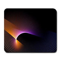 Star Graphic Rays Movement Pattern Large Mousepads