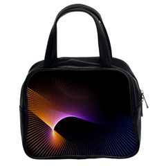 Star Graphic Rays Movement Pattern Classic Handbags (2 Sides)