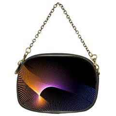 Star Graphic Rays Movement Pattern Chain Purses (one Side)