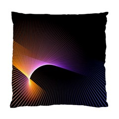 Star Graphic Rays Movement Pattern Standard Cushion Case (two Sides)