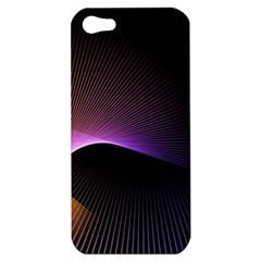 Star Graphic Rays Movement Pattern Apple Iphone 5 Hardshell Case