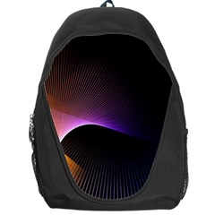 Star Graphic Rays Movement Pattern Backpack Bag
