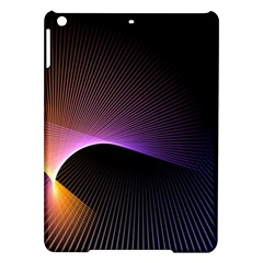 Star Graphic Rays Movement Pattern Ipad Air Hardshell Cases