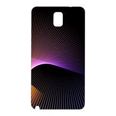 Star Graphic Rays Movement Pattern Samsung Galaxy Note 3 N9005 Hardshell Back Case