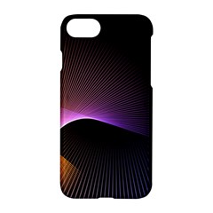 Star Graphic Rays Movement Pattern Apple Iphone 8 Hardshell Case