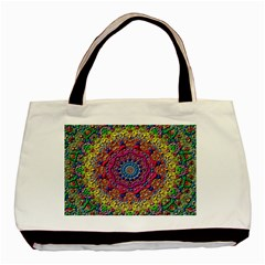 Background Fractals Surreal Design Basic Tote Bag