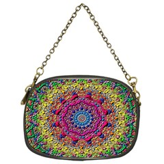 Background Fractals Surreal Design Chain Purses (one Side)