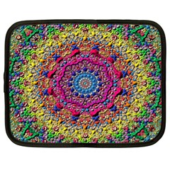 Background Fractals Surreal Design Netbook Case (xl)