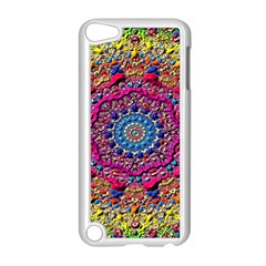 Background Fractals Surreal Design Apple Ipod Touch 5 Case (white)
