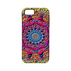 Background Fractals Surreal Design Apple Iphone 5 Classic Hardshell Case (pc+silicone)