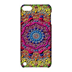 Background Fractals Surreal Design Apple Ipod Touch 5 Hardshell Case With Stand