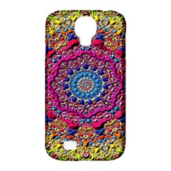 Background Fractals Surreal Design Samsung Galaxy S4 Classic Hardshell Case (pc+silicone)