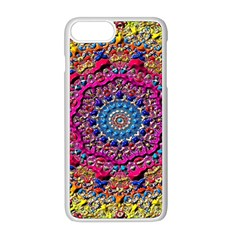 Background Fractals Surreal Design Apple Iphone 8 Plus Seamless Case (white)