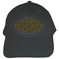 Texture Background Mandala Black Cap