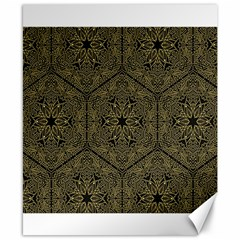 Texture Background Mandala Canvas 8  X 10