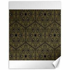 Texture Background Mandala Canvas 12  X 16