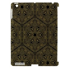 Texture Background Mandala Apple Ipad 3/4 Hardshell Case (compatible With Smart Cover)