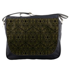 Texture Background Mandala Messenger Bags
