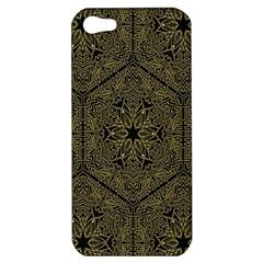 Texture Background Mandala Apple Iphone 5 Hardshell Case