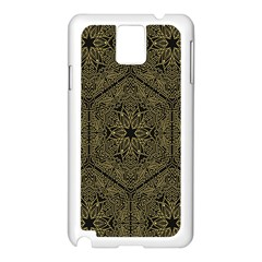 Texture Background Mandala Samsung Galaxy Note 3 N9005 Case (white)