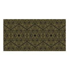 Texture Background Mandala Satin Shawl