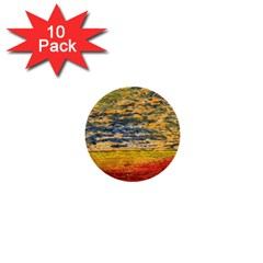 The Framework Drawing Color Texture 1  Mini Buttons (10 Pack)